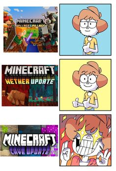 A place to post memes about Minecraft! Art Minecraft, Minecraft Posters, Minecraft Comics, Minecraft Funny, Minecraft Blueprints, Minecraft Designs, Really Funny Memes, Stupid Funny Memes, Funny Relatable Memes