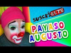 Maquillaje de Payaso AUGUSTO / Tutorial #1 - YouTube