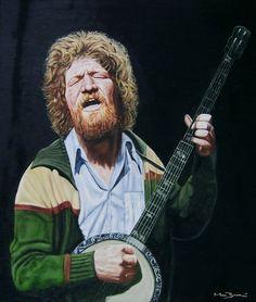 Luke Kelly (November 1940 - January Irish banjo player (member of the Dubliners). Banjo, Violin, Scottish Music, Music People, Master Class, Artist At Work, My Music, Vintage Photos, Irish
