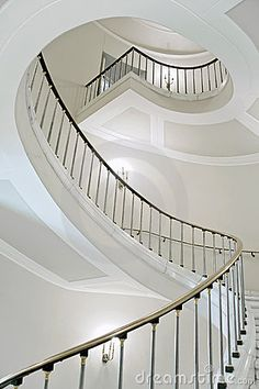 Picture of Stairwell in the Polish palace. stock photo, images and stock photography. Design Your Home, House Design, Balustrades, Palace Interior, White Elegance, Stock Image, Stairway To Heaven, Next At Home, Art Deco Fashion