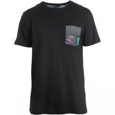 Rip Curl Herren T-Shirt CRUISE POCKET TEE - BLACK  1