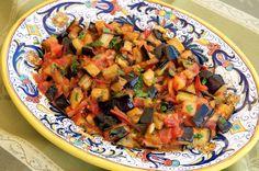 "Melanzane a funghetto (""Mushroom-Style"" Eggplant)"