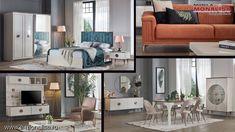 Mobila moderna deosebita Rita Chesterfield, Bed, Furniture, Design, Home Decor, Simple Lines, Decoration Home, Stream Bed, Room Decor