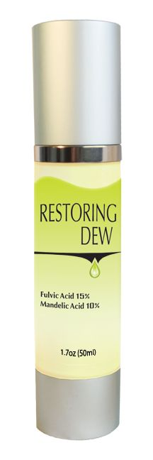 This hydrating organic serum helps to brighten and firm your skin! Enriched with natural Fulvic Minerals (15%) and Mandelic Acid (10%), it is beneficial for every complexion. Restoring Dew is an excellent treatment for hyperpigmentation. If you have dry to normal skin, you may use it in conjunction with your night cream or in place of a moisturizer for those with normal to oily complexion. Directions: Oily Complexion- Apply serum at night. Dry to Normal – Apply Serum at night; may be…