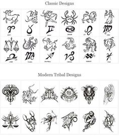 Tattoo Designs Of Zodiac Signs Here Are Some Other Related