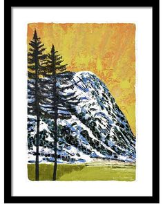 Spruce and mountain Mountain, Iphone, Pictures, Painting, Instagram, Art, Photos, Art Background, Painting Art