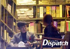 {PICS} 131004 TOP with BIGBANG Stylist Ji Eun @ Cafe in Busan