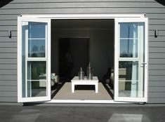 aluminium french doors - Google Search                                                                                                                                                                                 More