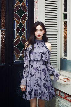 milkcocoa Korean Fashion Dress, Ulzzang Fashion, Korean Outfits, Asian Fashion, Girl Fashion, Fashion Outfits, Korea Fashion, India Fashion, Pretty Outfits
