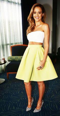Jessica Alba. So freaking adorable.