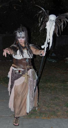 This is my Voodoo witch doctor costume