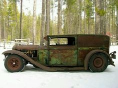 """Lots of potential. ♥ the """"Hot Rod"""" lines Rat Rod Trucks, Rat Rods, Rat Rod Cars, Cool Trucks, Chevy Trucks, Cool Cars, Truck Drivers, Big Trucks, Diesel Trucks"""