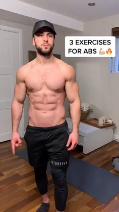 Home Body Weight Workout, Abs And Cardio Workout, Gym Workout Chart, Gym Workout Videos, Gym Workout For Beginners, Fitness Workouts, Training Fitness, Kickboxing Workout, Abs Workout Routines