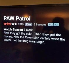 Wow...the Paw Patrol has really upped their game... 2015 Tv, May 22, You Had One Job, Daft Punk, Liquor Store, Awkward Moments, Getting Pregnant, Funny Fails, Paw Patrol