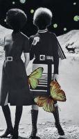 UNIVERSEN _ huber.huber  MiCamera è orgogliosa di annunciare la prima mostra in Italia degli artisti svizzeri huber.huber (i gemelli Markus e Reto Huber) dal titolo Universen.  La mostra presenta una selezione di collage tratti dalla serie MIKROUNIVERSUM (2005-2011) e una selezione di sculture appartenenti alla serie Vogelhäuser (casette per uccelli, 2005-2010)