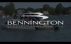 can you wake board behind a bennington pontoon boat?