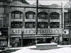 Sattlers Department Store, 998 Broadway, Buffalo, New York
