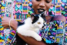 Loo Nascimento & Dresscoração: A Moda Bráfrica Bafonica. | The Black Cupcake