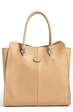 Tod's 'Sella' Shopper, Extra Large available at #Nordstrom Simply Gorgeous