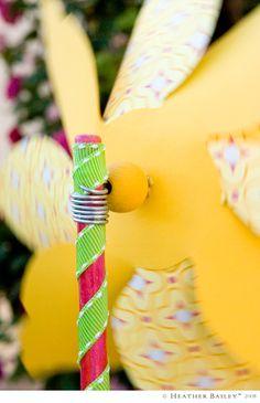 Tays Rocha: Cataventos na decoração - Ideias, moldes e paps