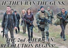 If they ban the guns, the 2nd American revolution begins!