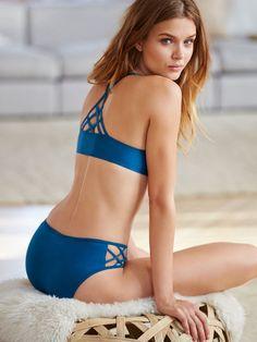 Crisscross Hiphugger Panty - Cotton Lingerie - Victoria's Secret