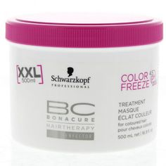 schwarzkopf bc color freeze 4 5ph treatment 500ml cosmetiques online - Shampoing Schwarzkopf Cheveux Colors
