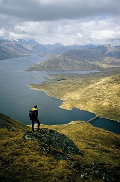 A walk in the Highlands of Scotland.
