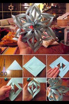 ; 3D Snowflake ! Cool Craft