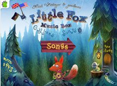 Little Fox Music Box is a total charmer for little kids. Three different animated scenes with fantastic graphics, fun songs, and a music studio where your child can get creative with percussion.