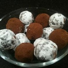 Vegan Dark Chocolate Truffles @ http://allrecipes.co.uk