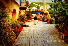 Tlaquepaque Village Courtyard - Sedona  Thanks for visiting my gallery...