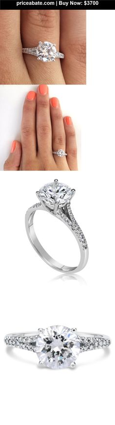 JUST UPDATED: Wedding-rings: 2.50 CT ROUND CUT D/SI1 DIAMOND SOLITAIRE ENGAGEMENT RING 14K WHITE GOLD - BUY IT NOW ONLY $3700