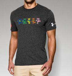 Men's Grateful Dead Dancing Bear T-Shirt