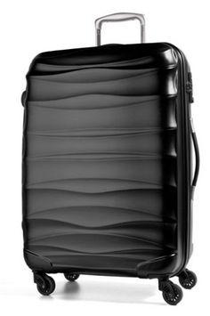 March Lite Wave S Black - kufr Suitcase, March, Waves, Black, Black People, Ocean Waves, Briefcase, Mac, Beach Waves