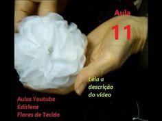 (55) AULA 11: FLORES BONITAS, FÁCEIS E RÁPIDAS PARA ROUPAS E CABELOS (leia a descrição do vídeo) - YouTube