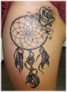 Dreamcatcher Tattoo Designs | Get Tattoo Designs, Tattoo Pictures, Tattoo Ideas at Tattoobite.com