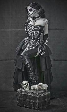 Skulls. Gothic.