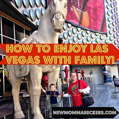 Click through for tips on what to do - and what not to do - in Las Vegas with family!
