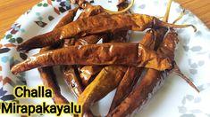 చల్ల మిరపకాయలు చేసే అస్సలైన పద్దతి ఇది👆|oora mirapakayalu recipe in telugu |Uppu Mirapakayalu - YouTube Sun Dried, Meat, Food, Essen, Meals, Yemek, Eten