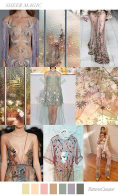 TREND_SHEER MAGIC by PatternCurator | Saved by Gabby Fincham |