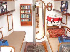 interior cabin morris anne 28
