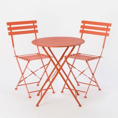 Painted Metal Bistro Chair in House+Home HOME+DÉCOR Furniture Outdoor at Terrain