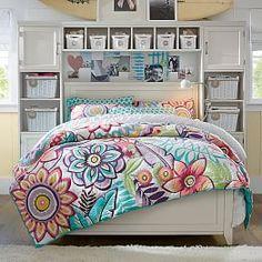 Patterned Girls Comforters & Comforter Sets | PBteen