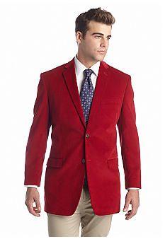 Saddlebred® Red Cord Sport Coat