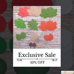 10% OFF Can you beleaf it?  Fall is here!  Get out your pumpkins, paper, scissors and more and begin our seasonal projects.   Hurry, sale ending soon!  Check out our discounted products now: https://www.etsy.com/shop/MultimediaCrafts?utm_source=Pinterest&utm_medium=Orangetwig_Marketing&utm_campaign=Fall%20Crafting%20Extravaganza!   #etsy #etsyseller #etsyshop #etsylove #etsyfinds #etsygifts #musthave #loveit #instacool #shop #shopping #onlineshopping #instashop #instagood #instafollow…