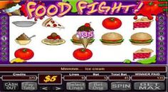 Play Food Fight RTG Slots at Manhattan Slots USA Casino On line