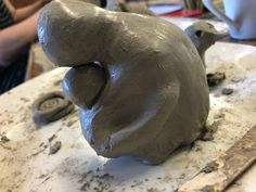 Clay structure Adult Art Classes, Clay, Creative, Clays, Modeling Dough