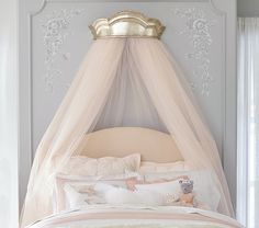 Monique Lhuillier Gold Cornice Canopy