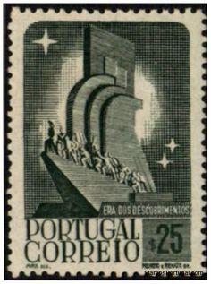 Selos - Afinsa nr 593 - Scott nr 589 - Era dos Descobrimentos 1940.